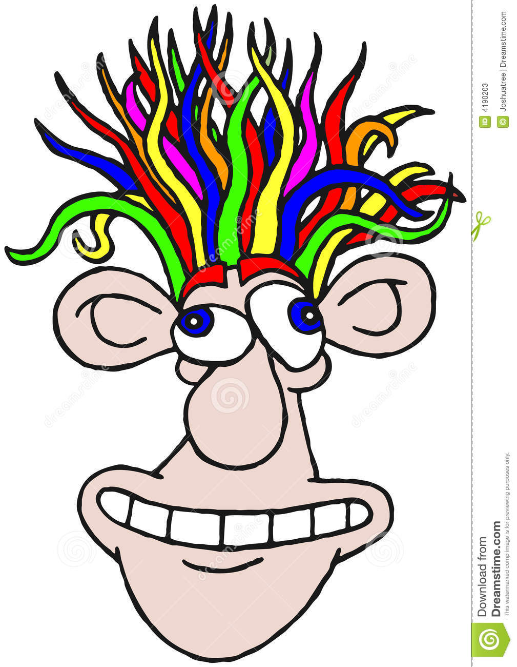 Crazy Hairdo Stock Illustrations 41 Crazy Hairdo Stock Illustrations Vectors Clipart Dreamstime