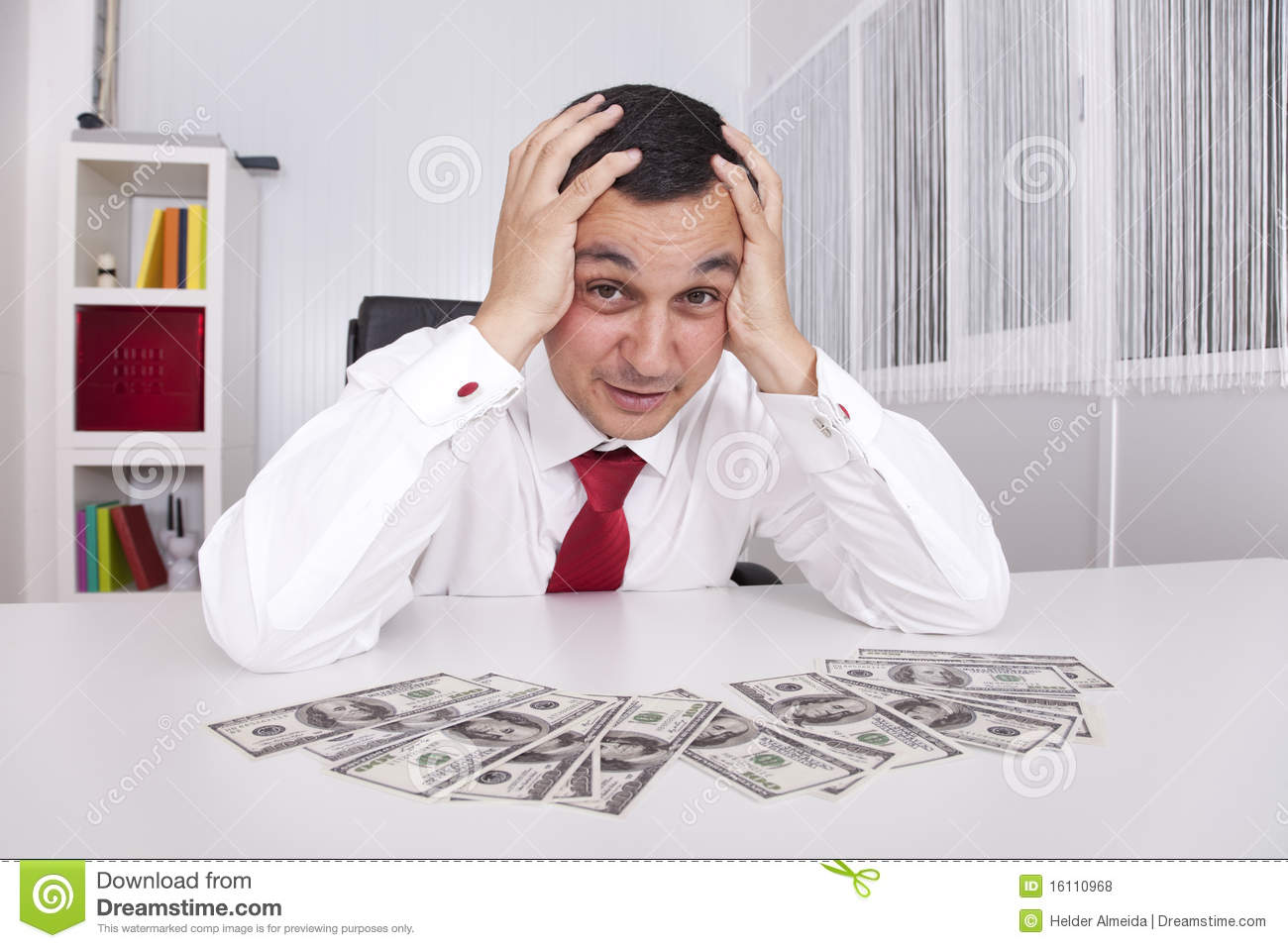 Crazy About Money Royalty Free Stock Photos - Image: 16110968