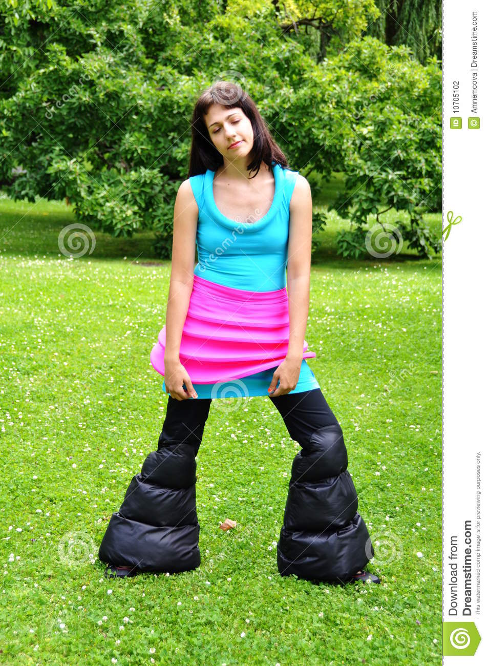 Crazy Outfit Stock Photography - Image 10705102