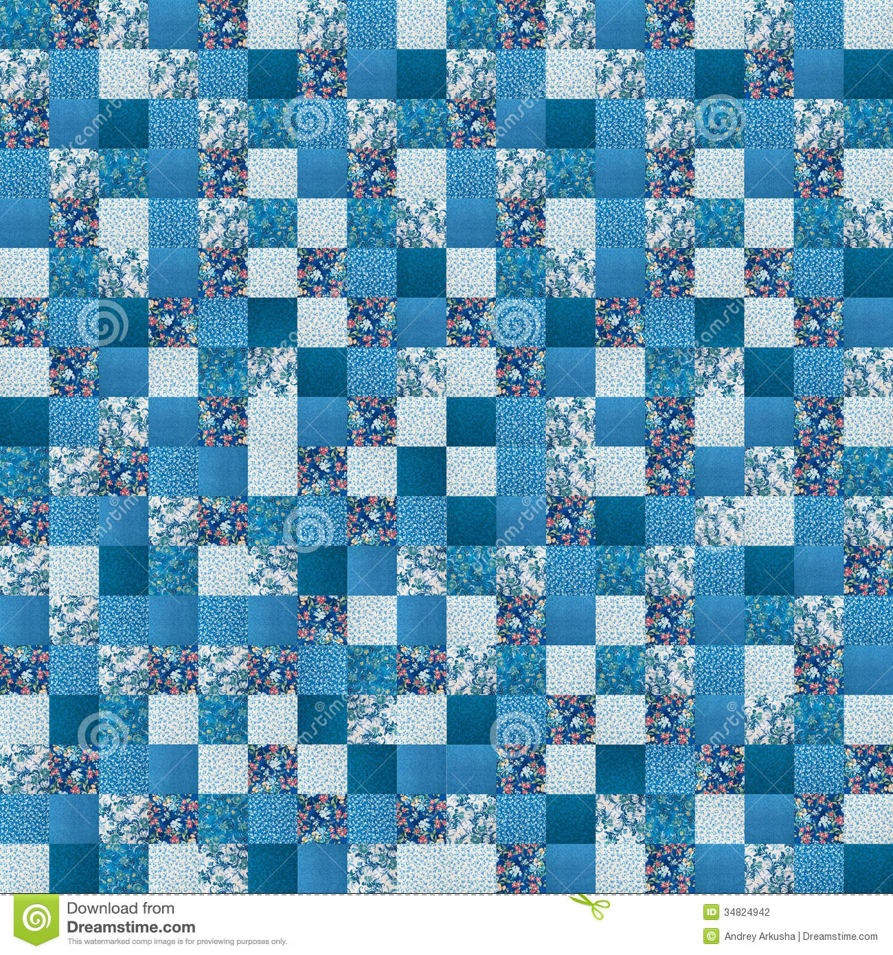 Crazy Quilt Pattern Fabric : Crazy quilt stock photo. Image of blue, coloring, quilt - 34824942