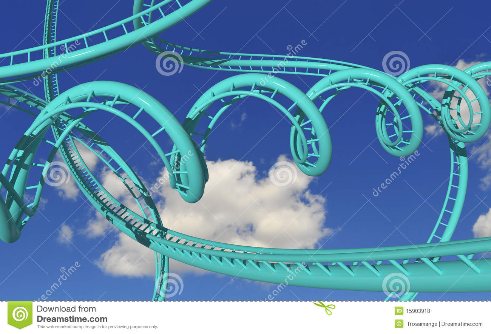 Crazy rollercoaster