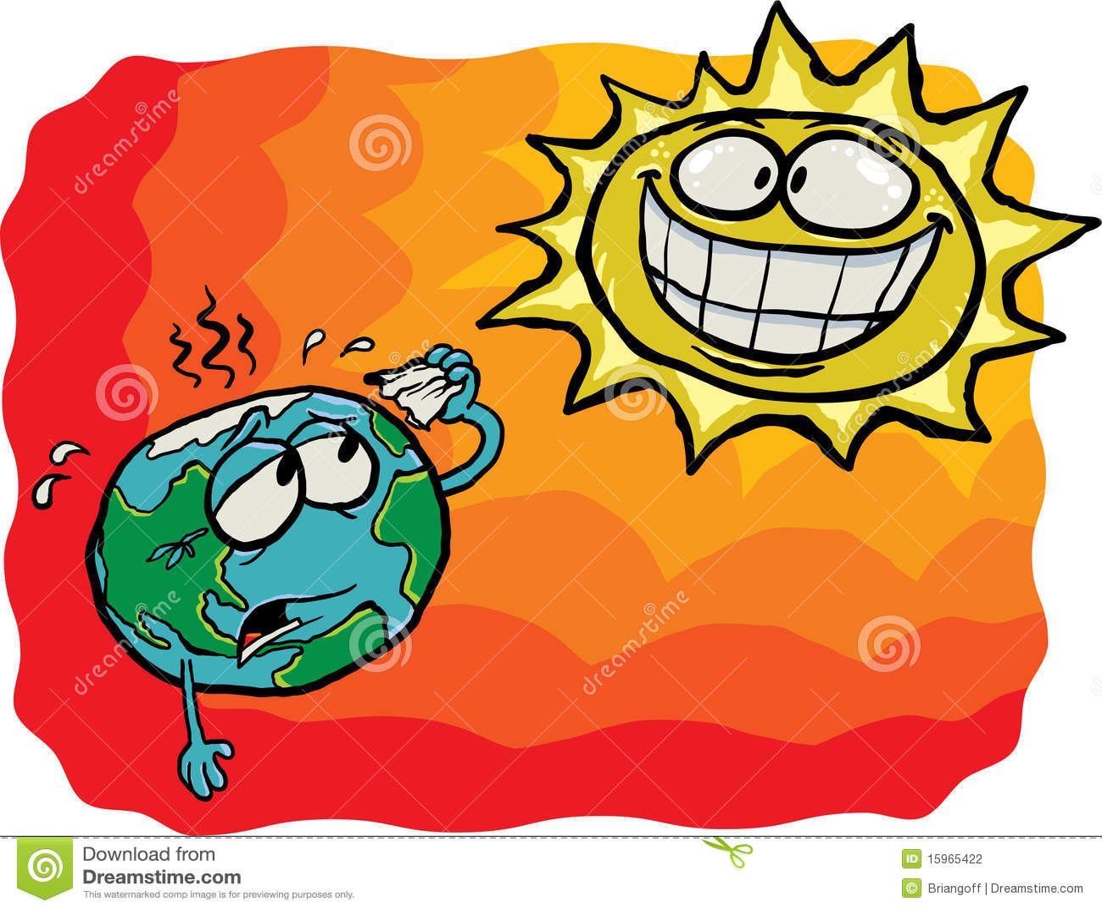 Crazy Sun Vs Earth Stock Photography Image 15965422