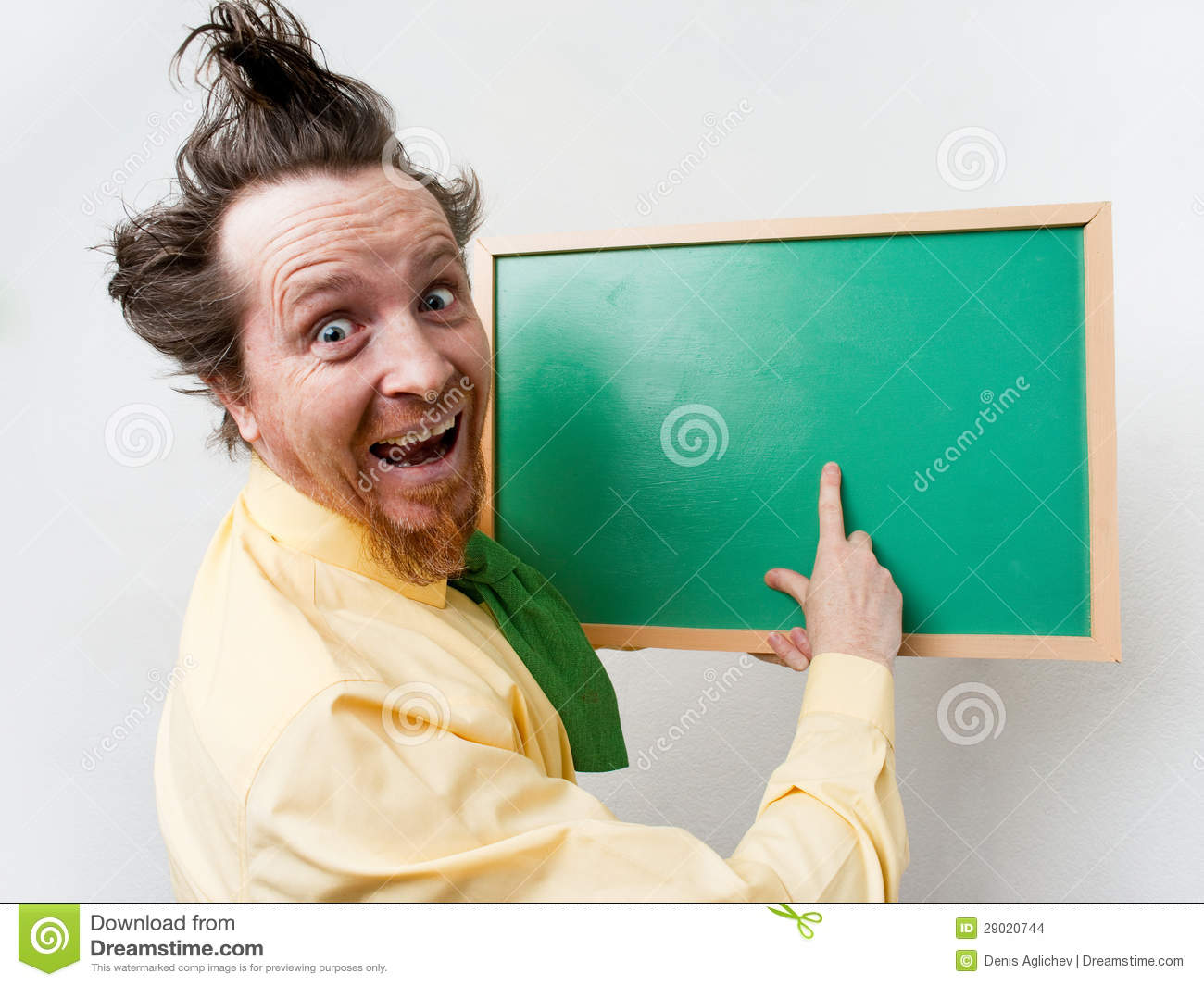 Crazy Teacher Stock Images - Image: 29020744