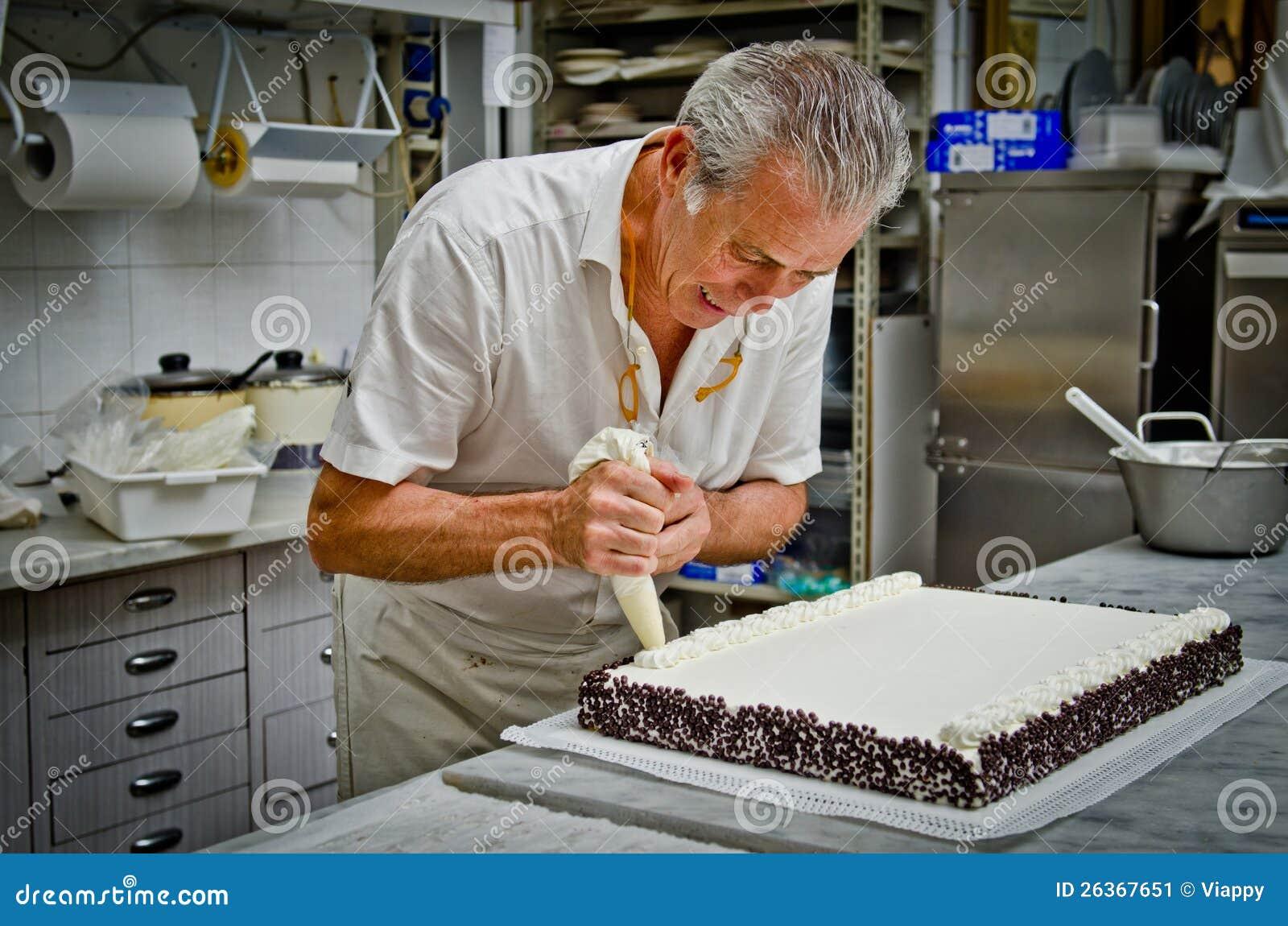Creación de la torta de boda