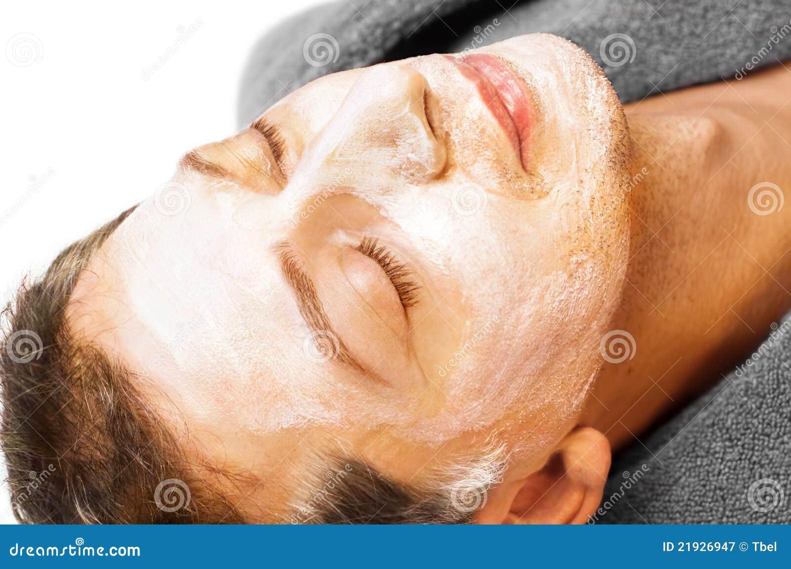 Cream сторона его маска человека