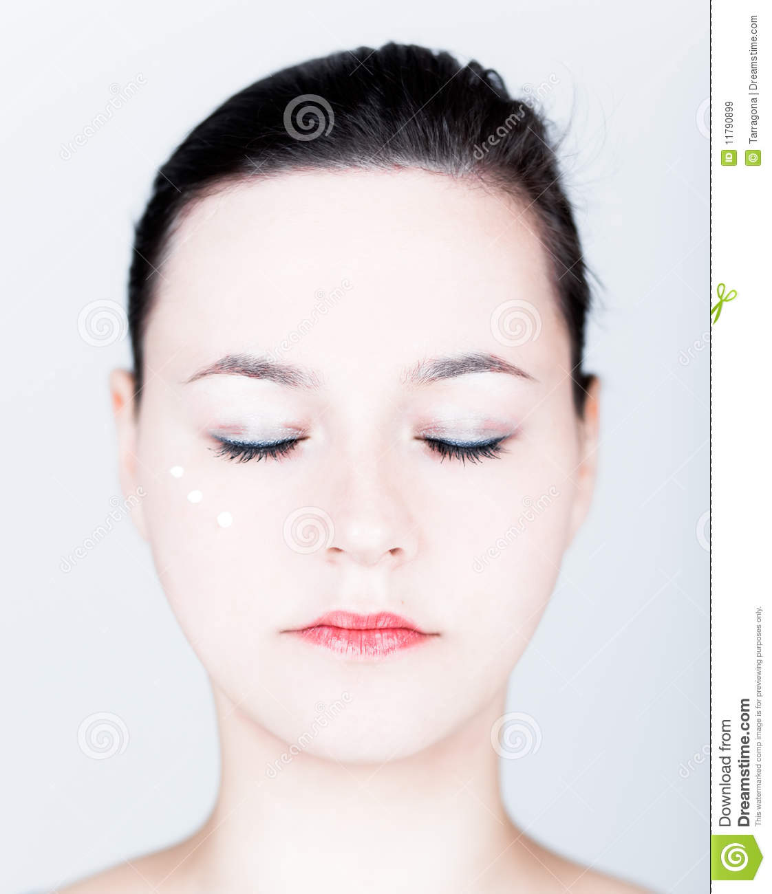 Cream Cosmetic Female Royalty Free Stock Images Image