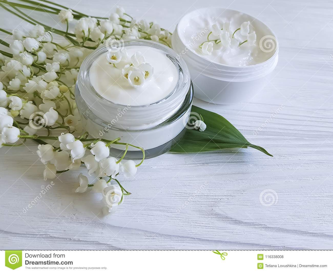 Cream Cosmetic Lily Of The Valley Relaxation Ointment Aromatic