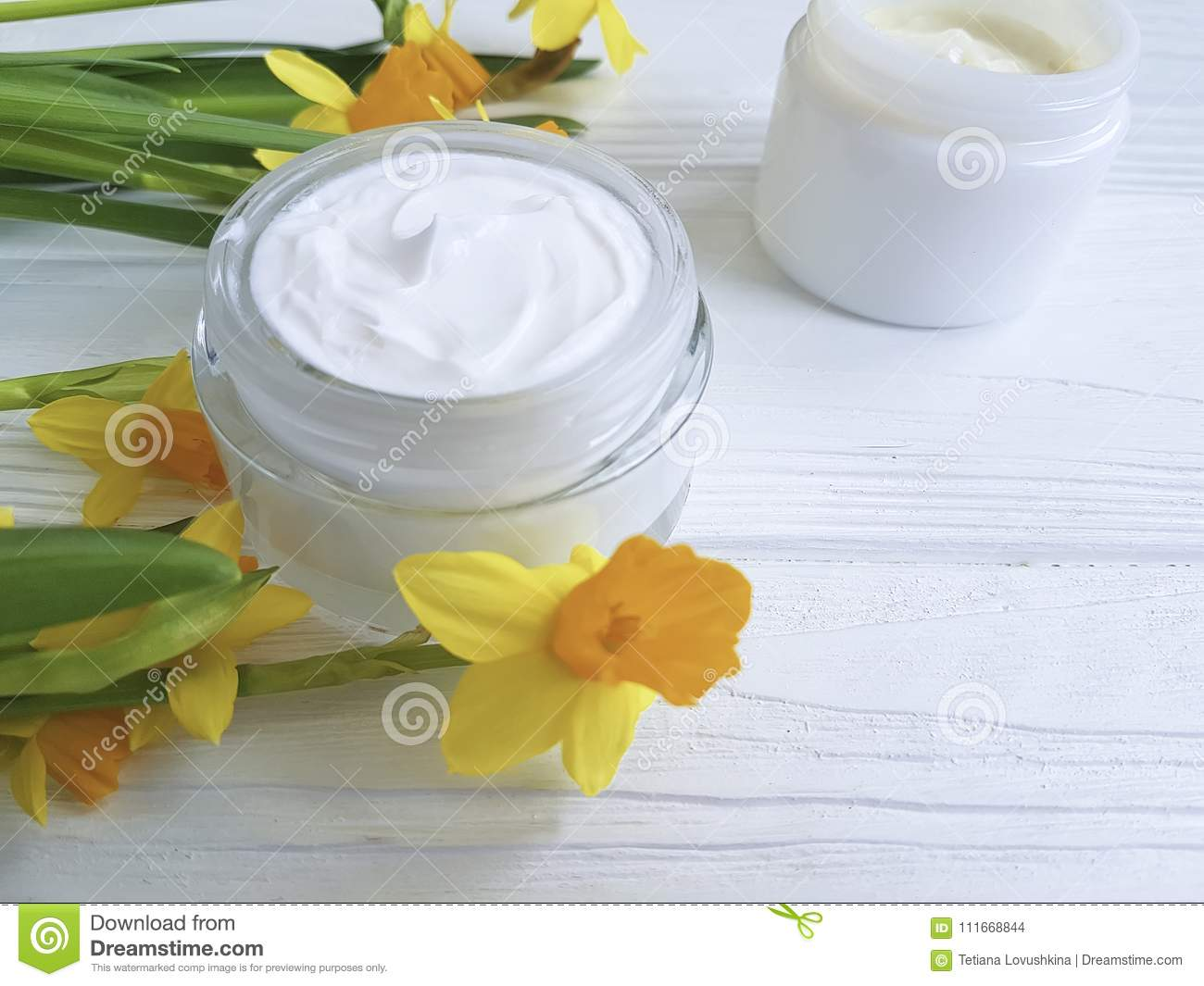 Cream Facial Cosmetic Extract Flower Care Ointment Rustic Organic