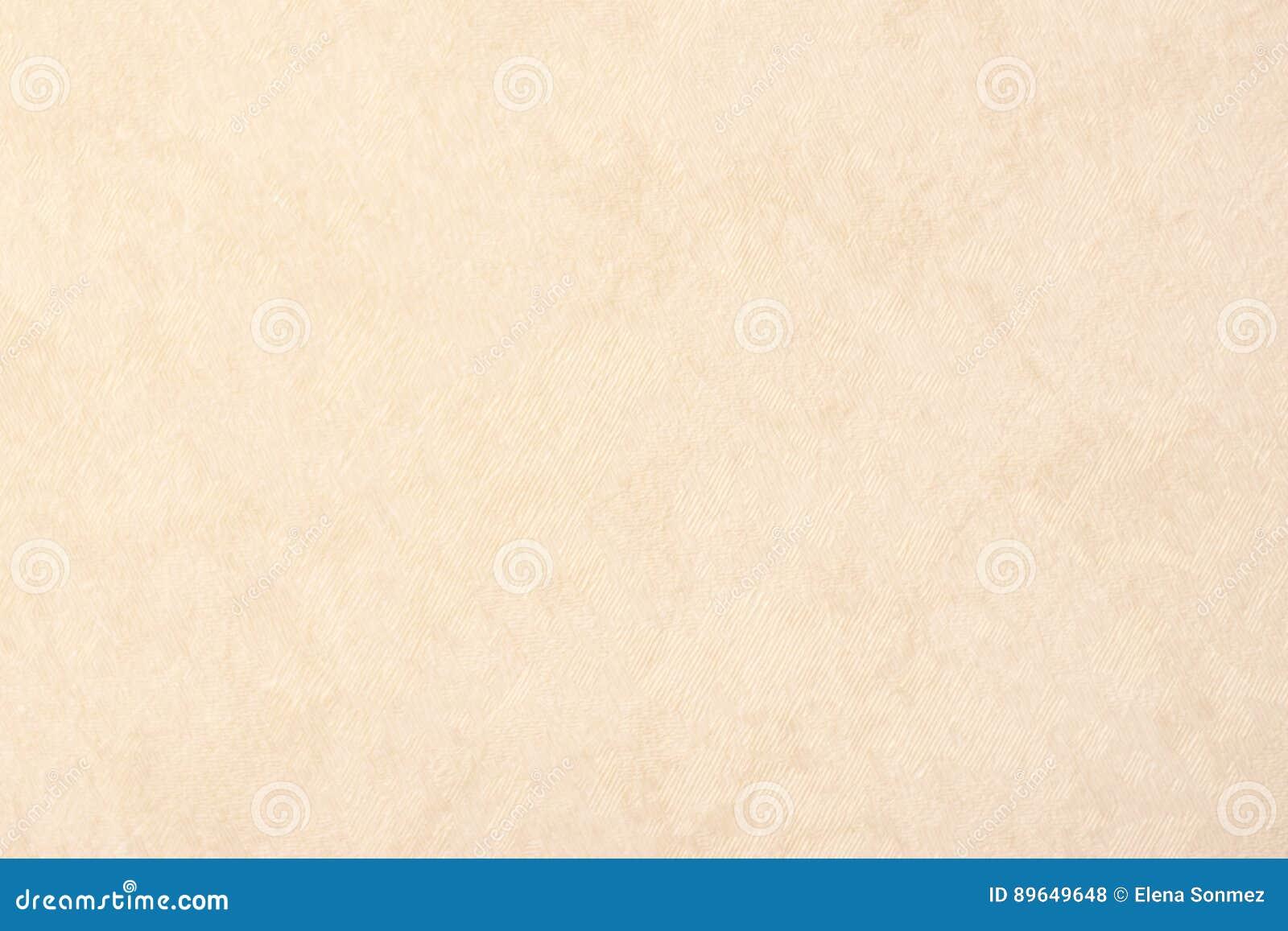 Cream texture background paper beige color, parchment paper, website background