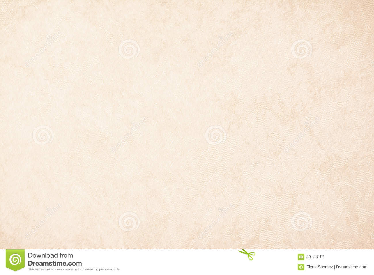Cream texture background paper in beige vintage color, parchment paper, abstract pastel gold gradient with brown, solid