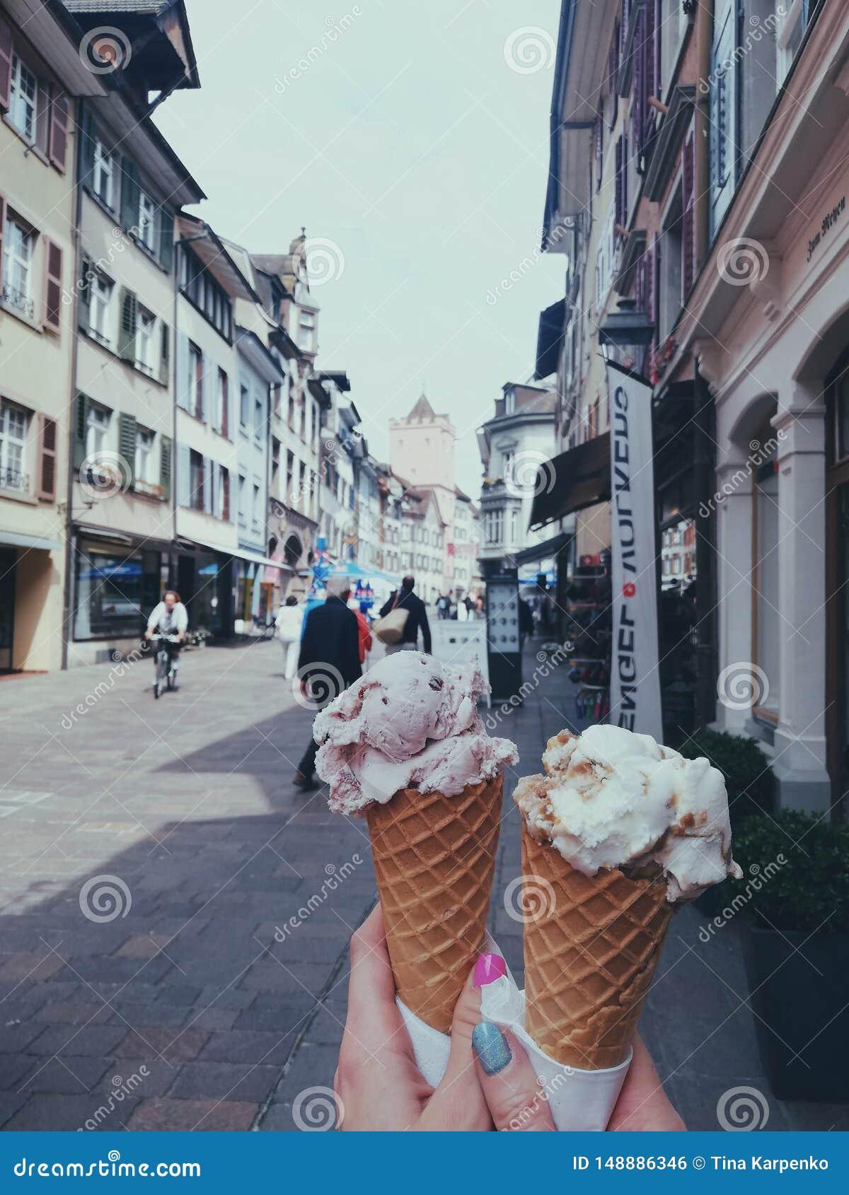 Is-creame i Rheinfelden