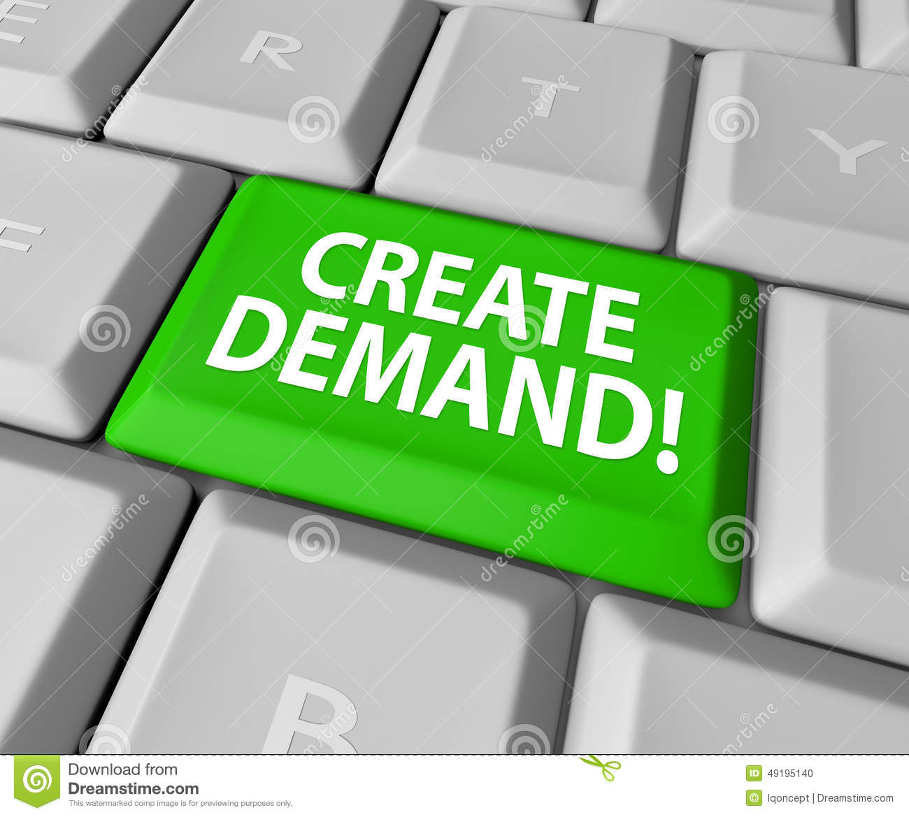 Create demand computer keyboard online business build for Build a building online