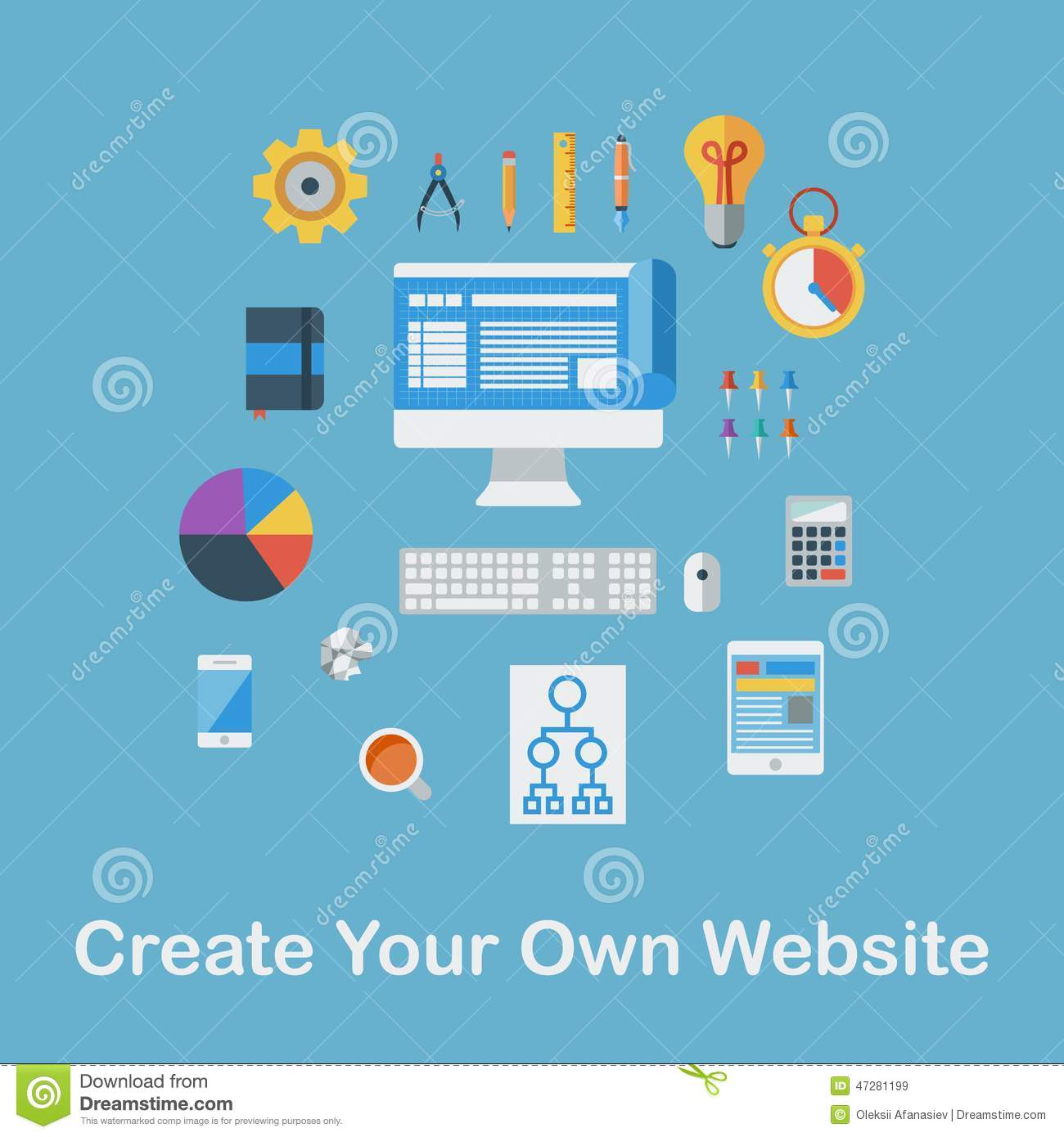 Step van create your own website How to make your own website for free