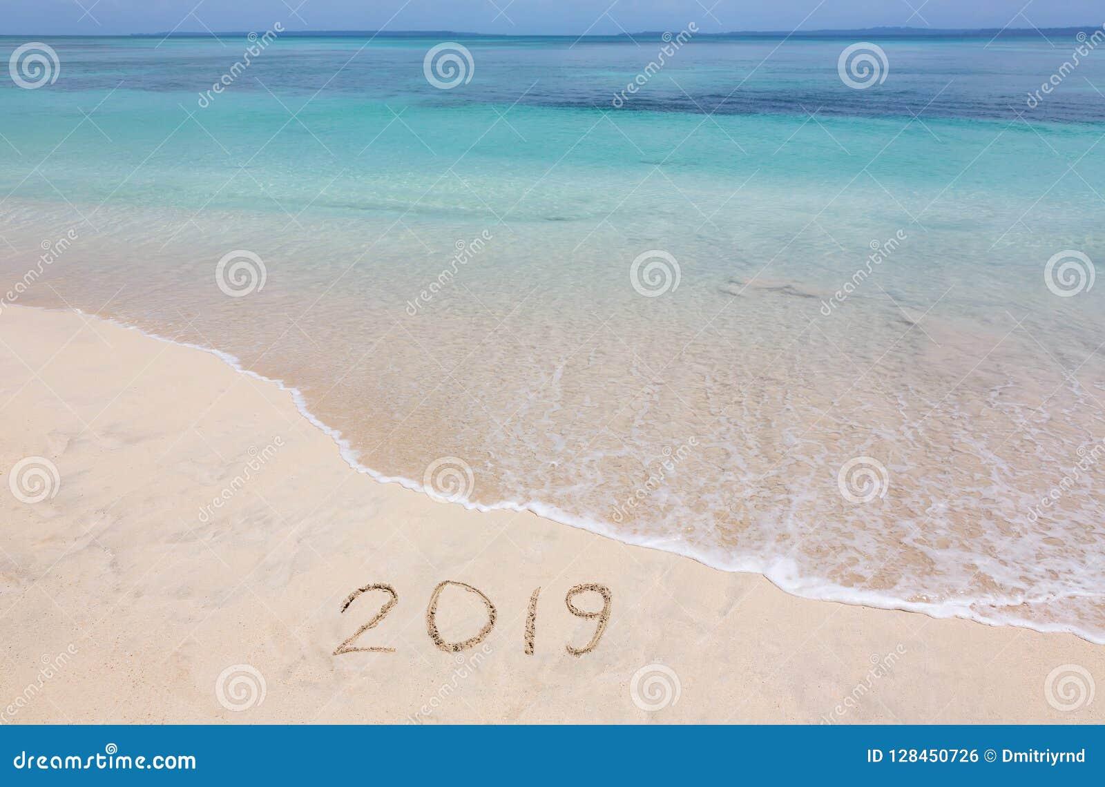 2019 creatief op het strand