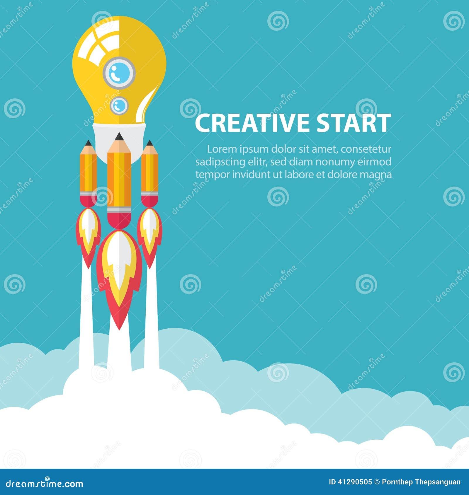 Creatief opstarten