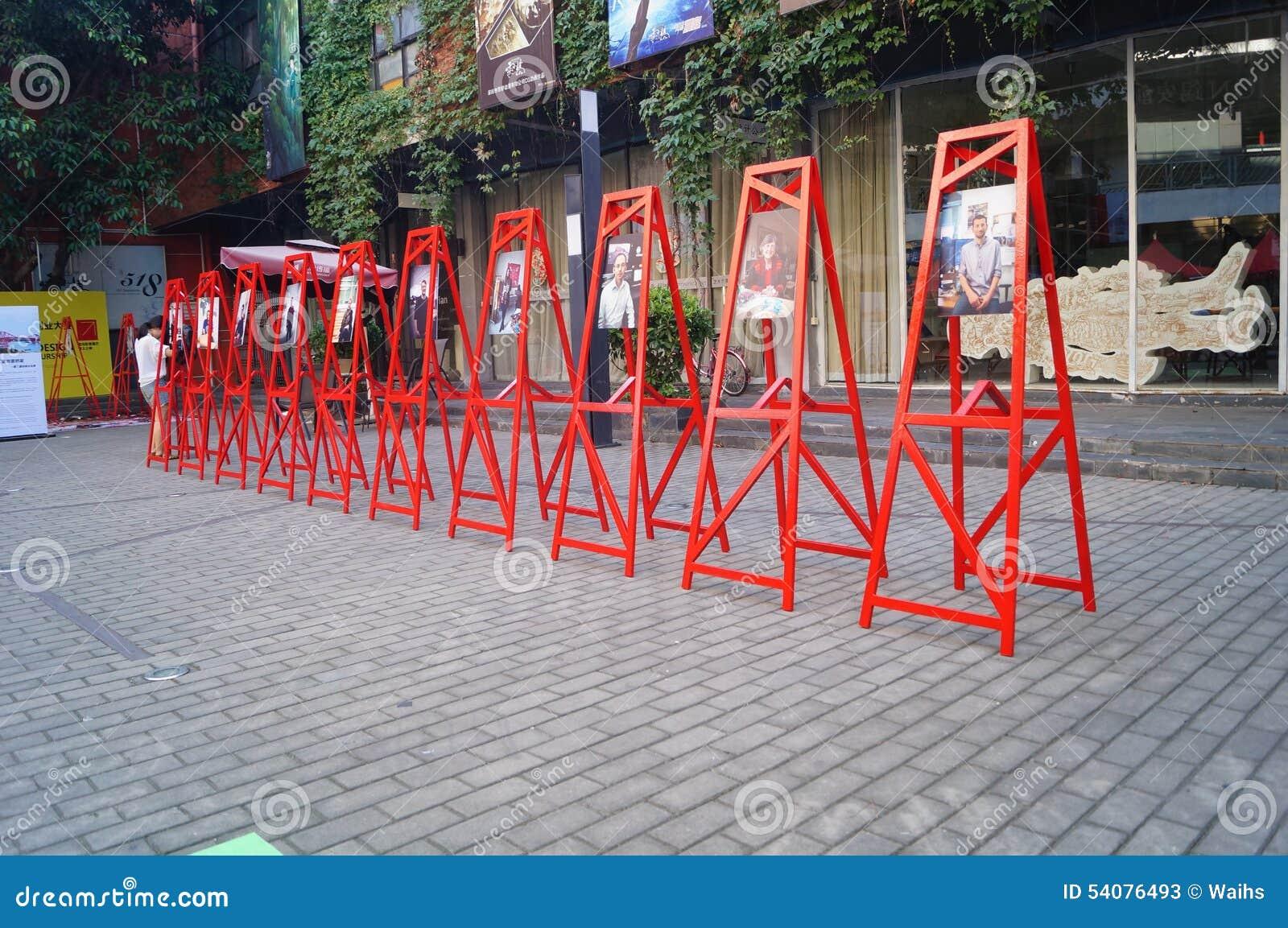 Creatieve het parkactiviteiten van de Shenzhenf518 manier