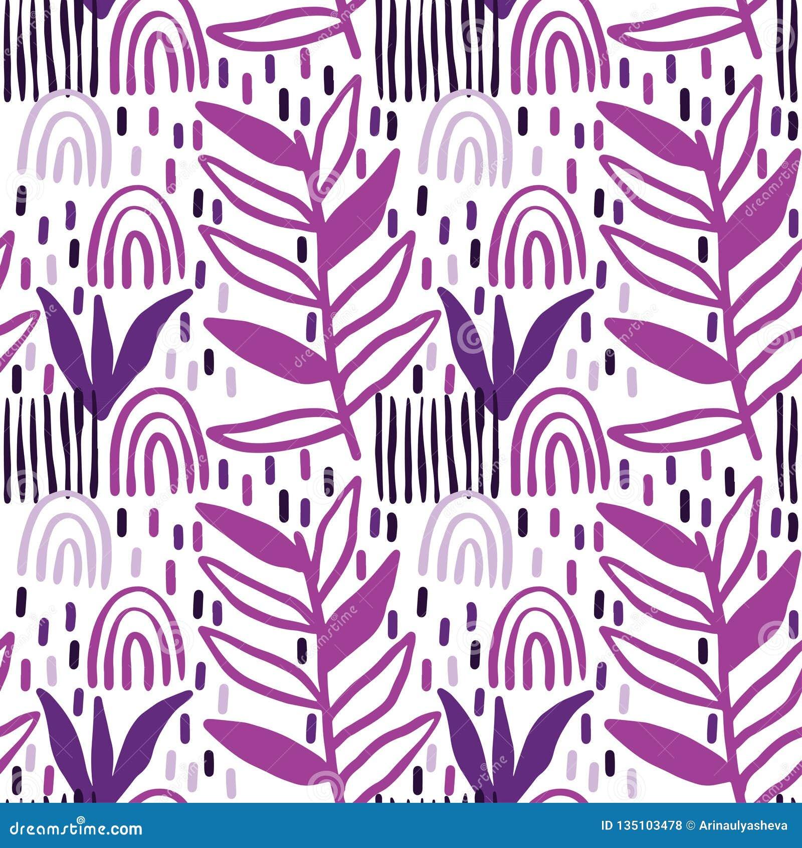 Creatieve patroon naadloze achtergrond met bloemenelementen en verschillende texturen collage Ontwerp voor affiche, kaart, uitnod