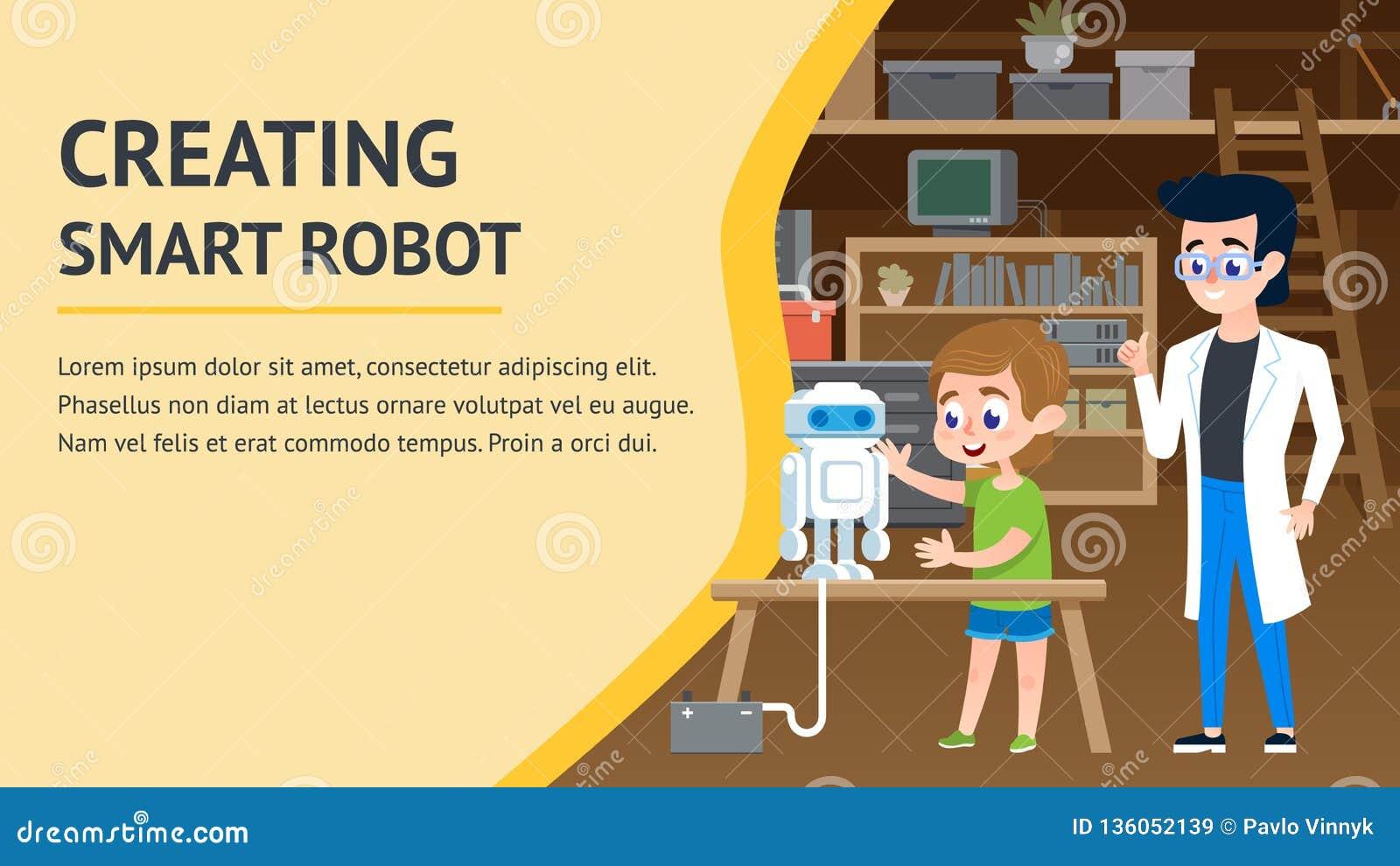 Creating Smart Robot. Garage Engineering Workshop