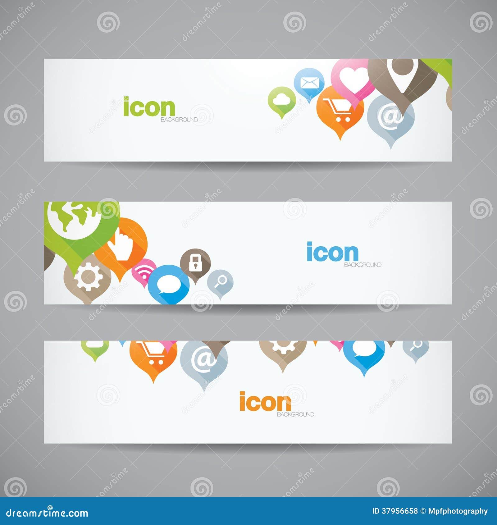 creative abstract background web icon banner heade royalty free stock photos