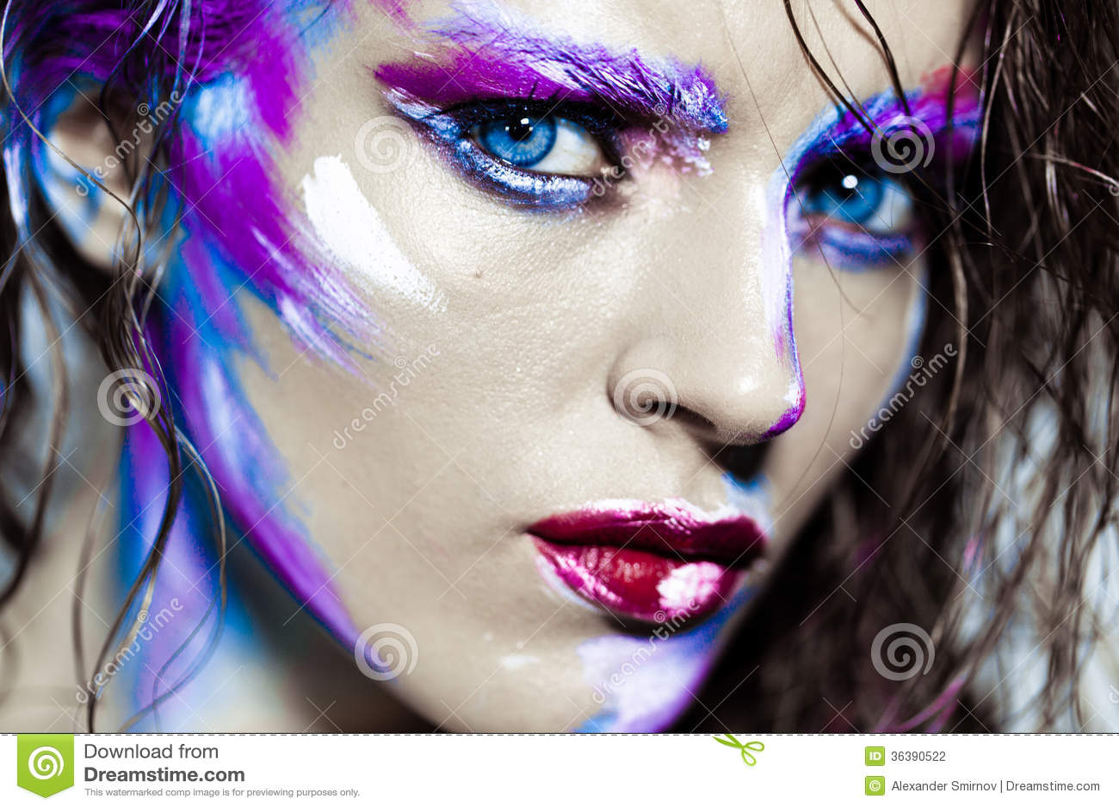 Face Paint Fashion Style