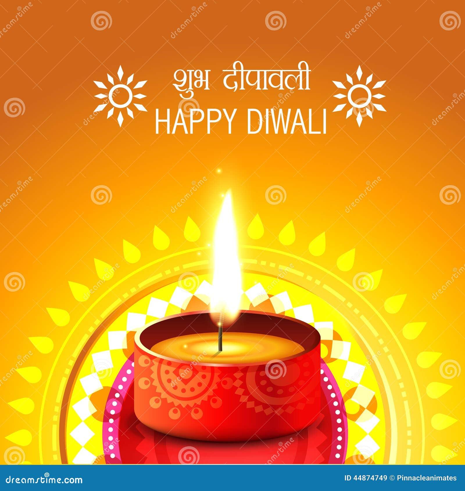 Creative background of diwali