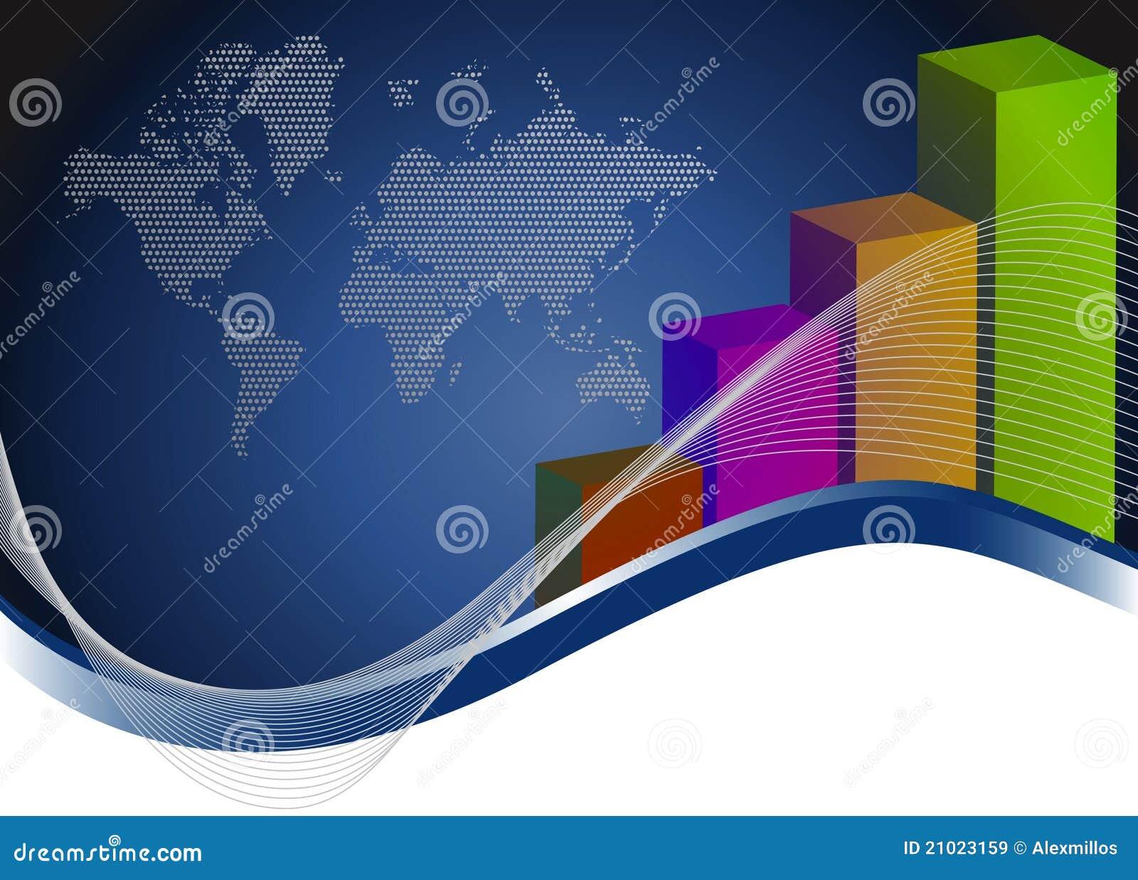 Royalty Free Stock Images  Creative bar graphs and mapCreative Bar Graphs