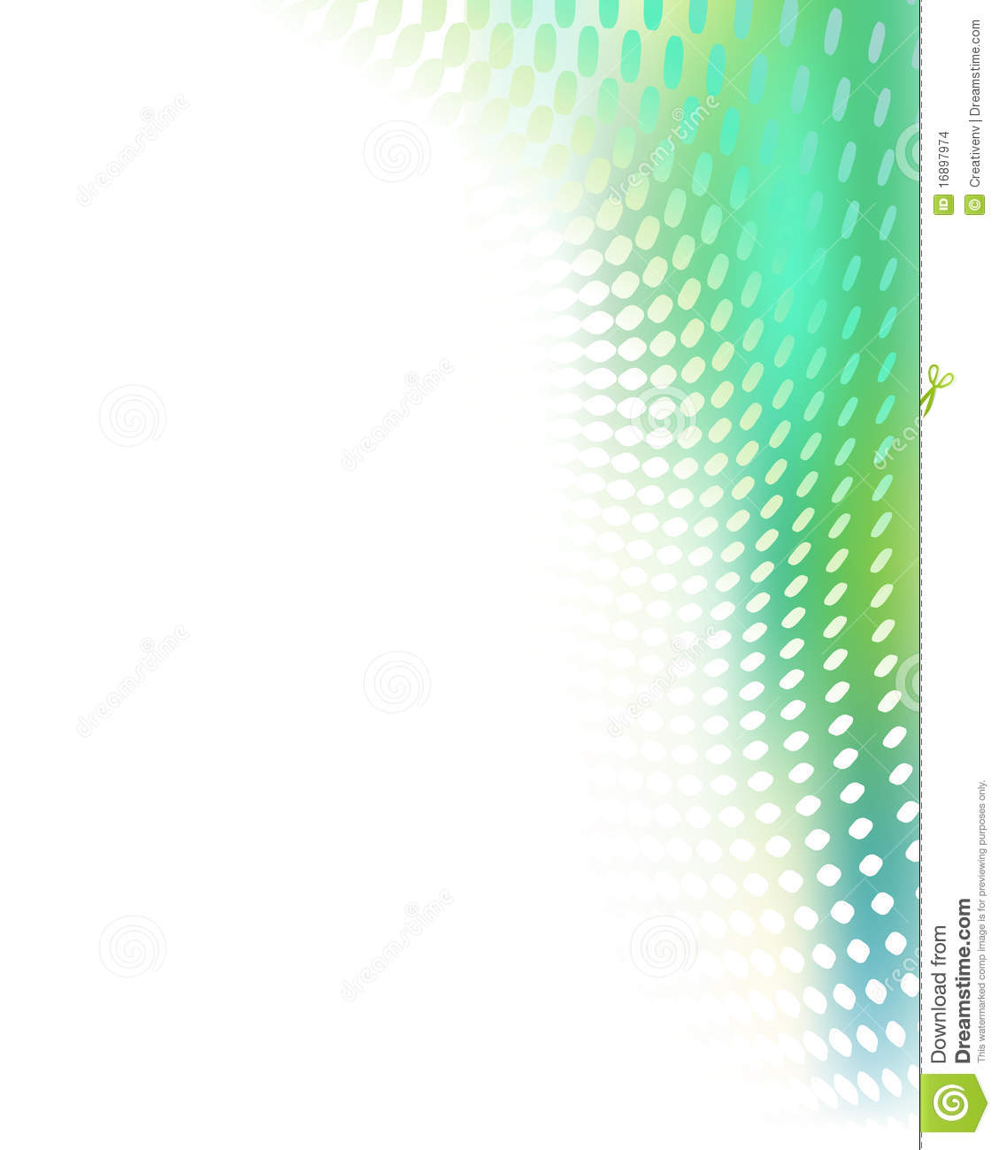 Creative Blue Green Abstract Background Tempate Stock