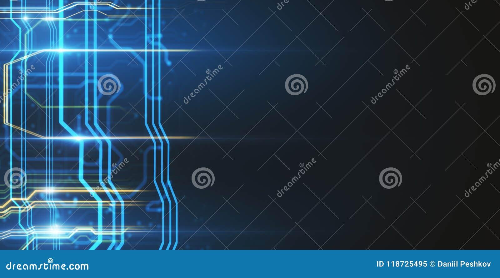 creative circuit wallpaper stock illustration illustration of