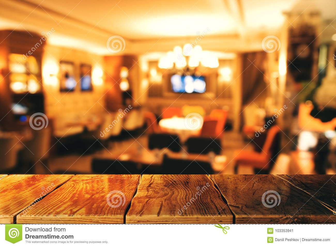 Creative Blurry Restaurant Texture Stock Image Image Of Blur Counter 103353941