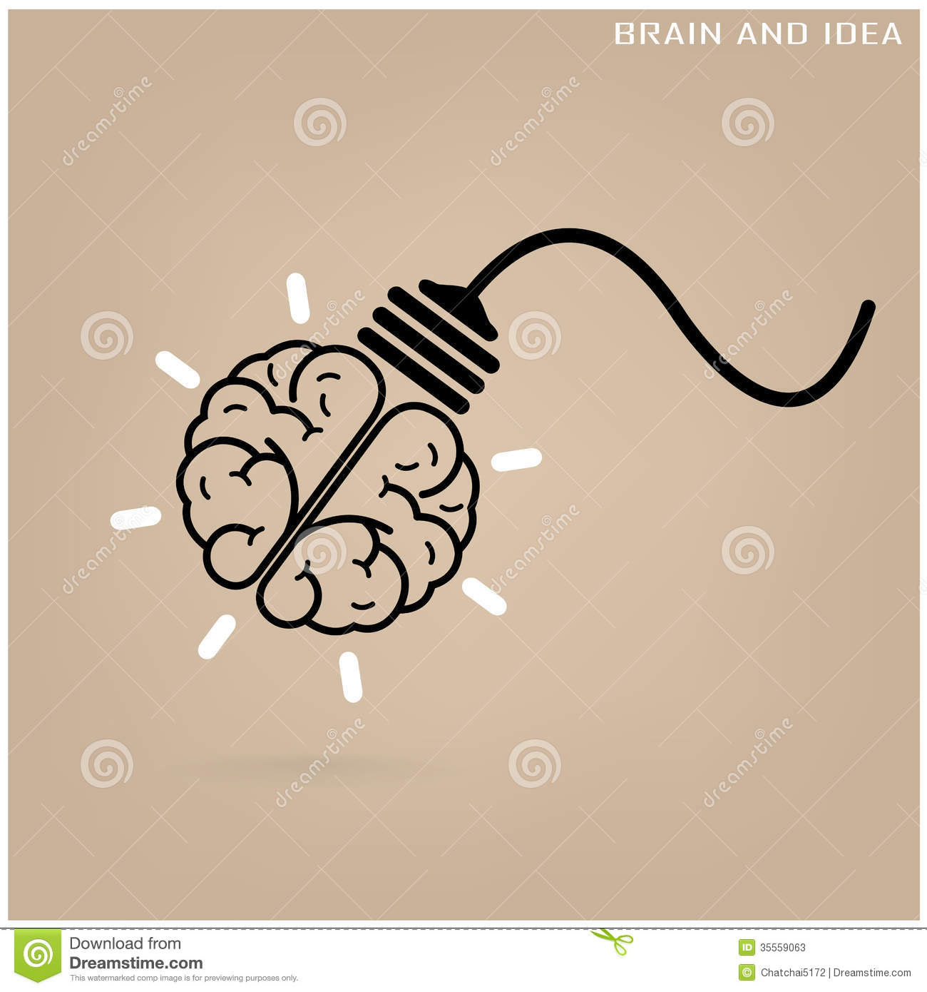 Creative Brain Idea Concept Background Stock Photos ...