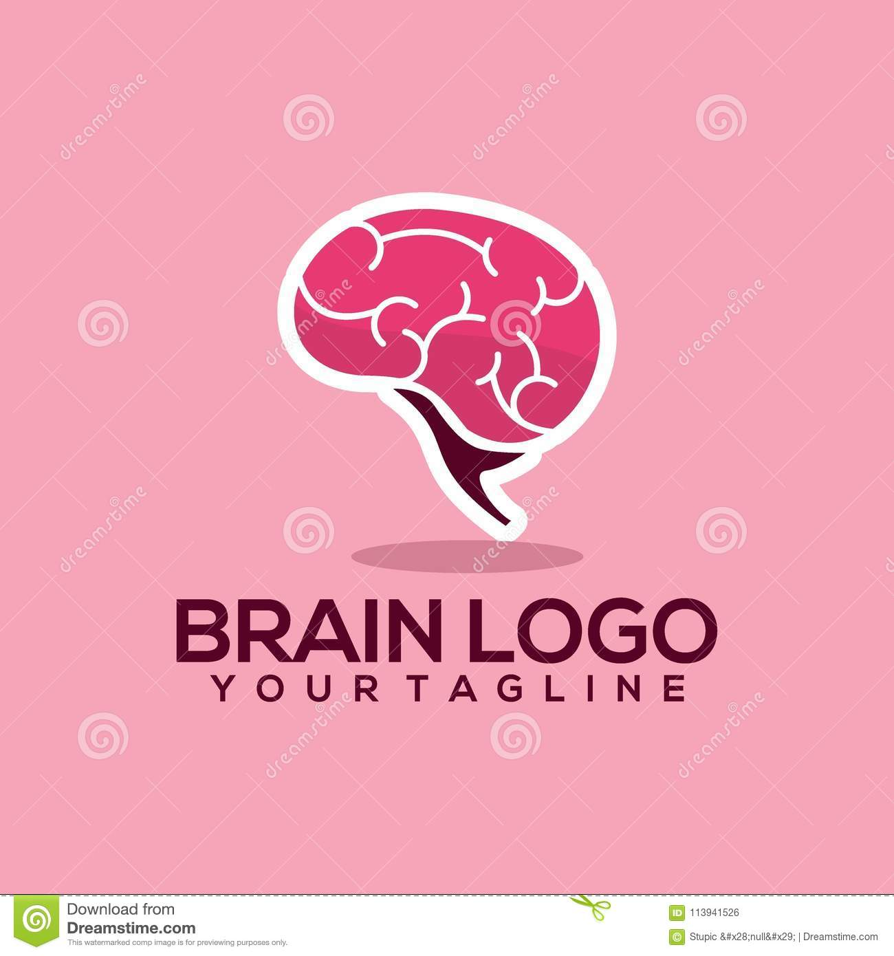Creative Brain Logo Design For Various Used And Purposed Just You The Great People