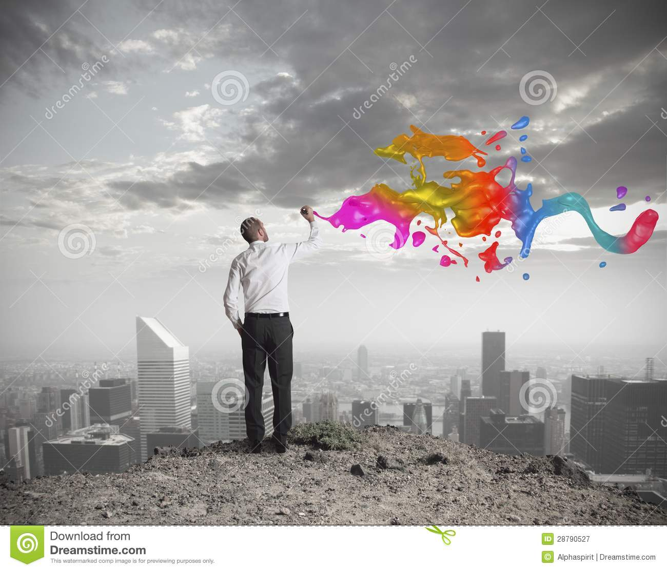 Creative business stock image image of effect color for Company picture ideas