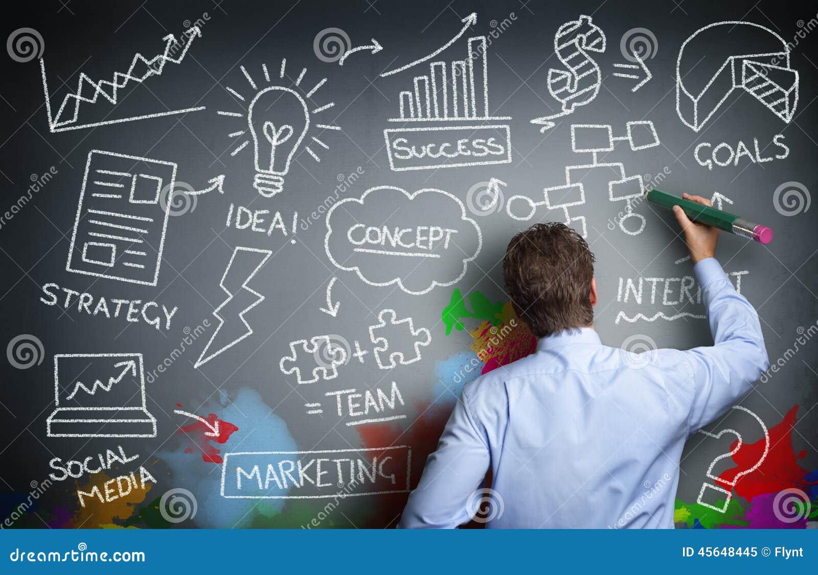 Creative Business Stock Photo Image 45648445