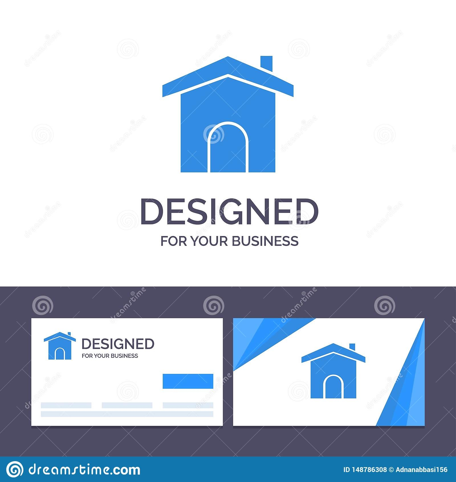 Creative Business Card And Logo Template Building