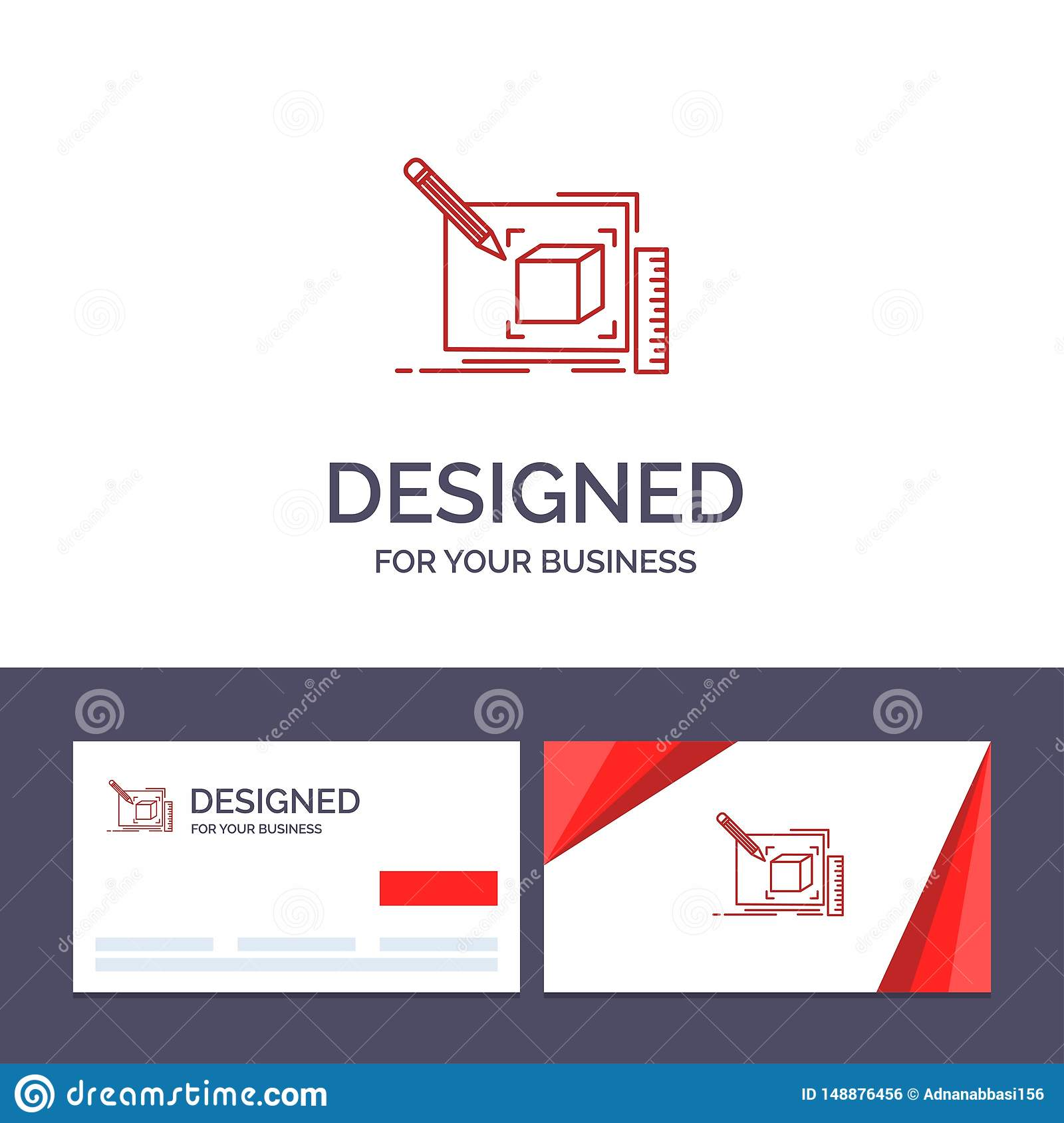 Creative Business Card And Logo Template Drawing Art