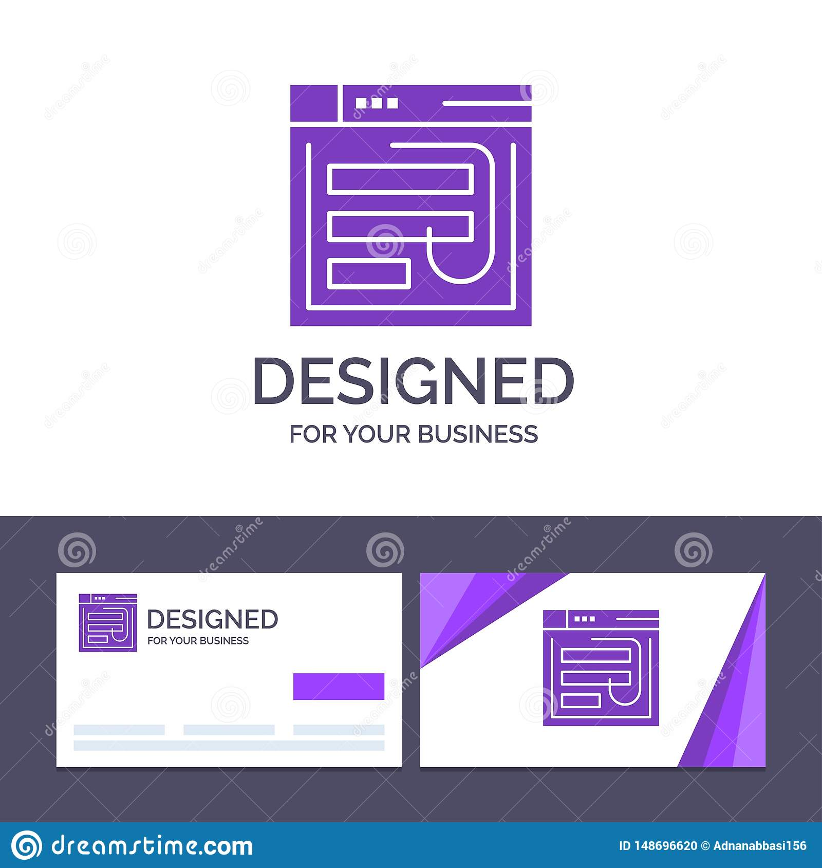 Creative Business Card And Logo Template Email, Hack