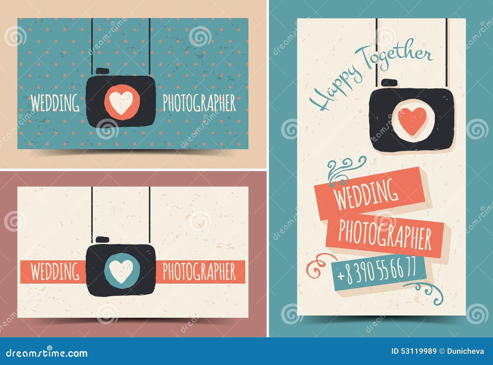 Creative Business Card Photographer Stock Illustration ...