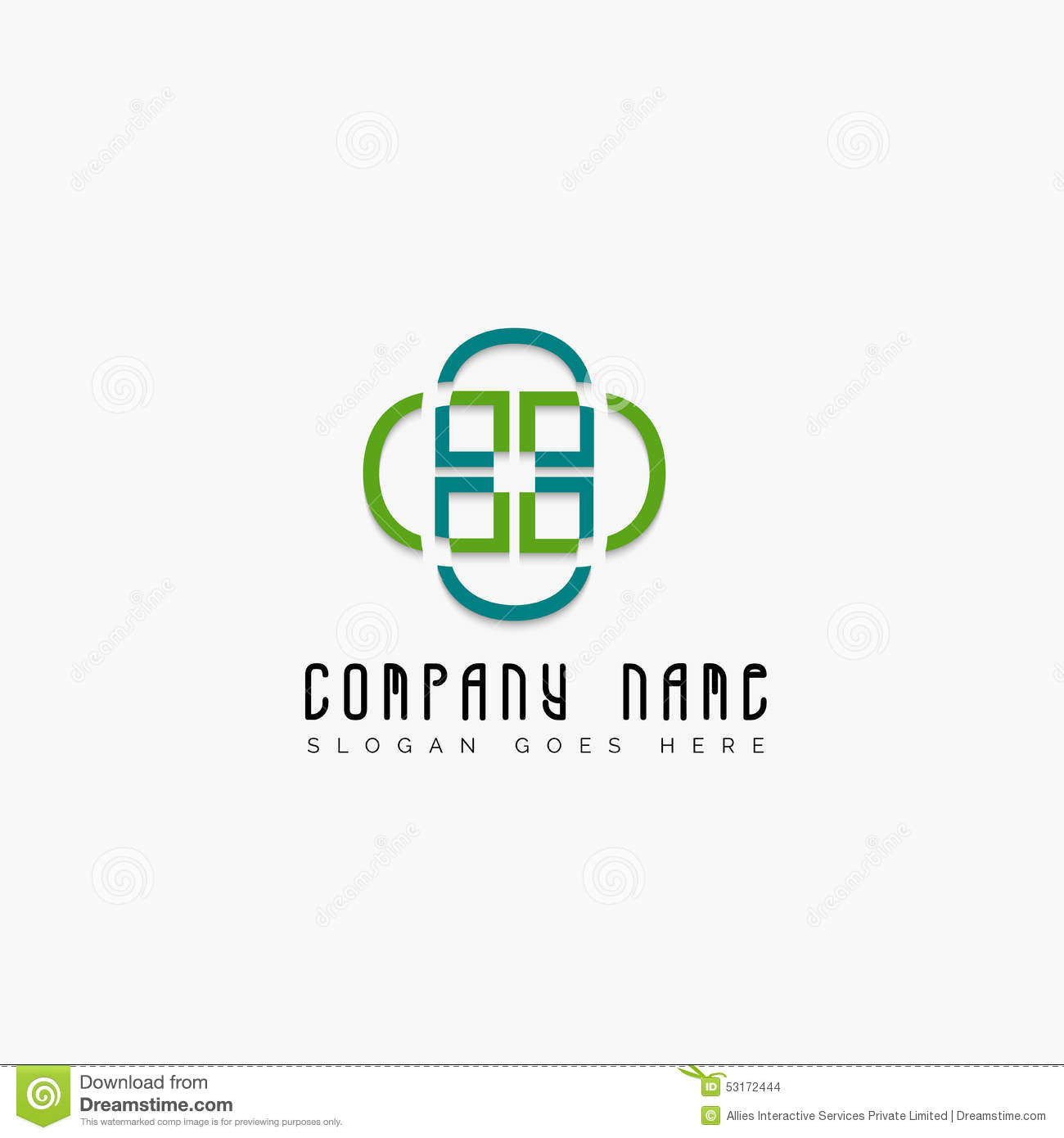 Creative Business Symbol For Your Company Stock Illustration