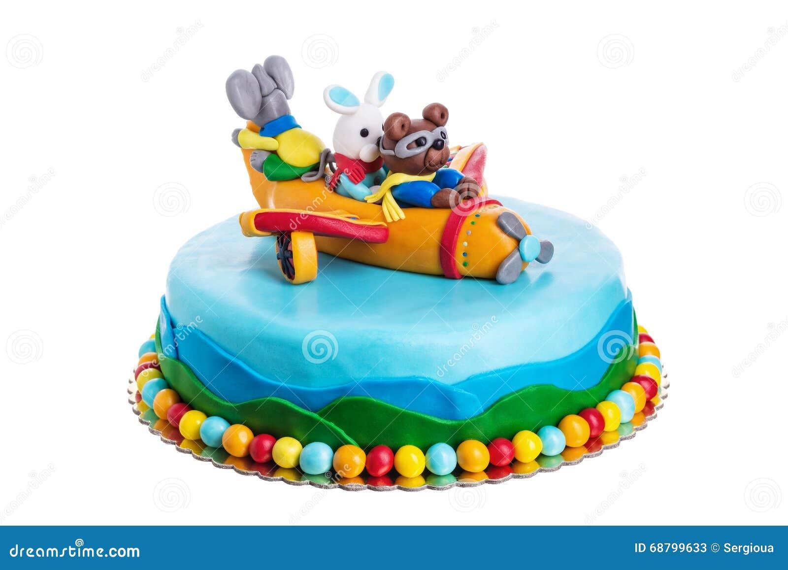 Fabulous Creative Cake Animals Birthday Of Children Stock Image Image Funny Birthday Cards Online Benoljebrpdamsfinfo