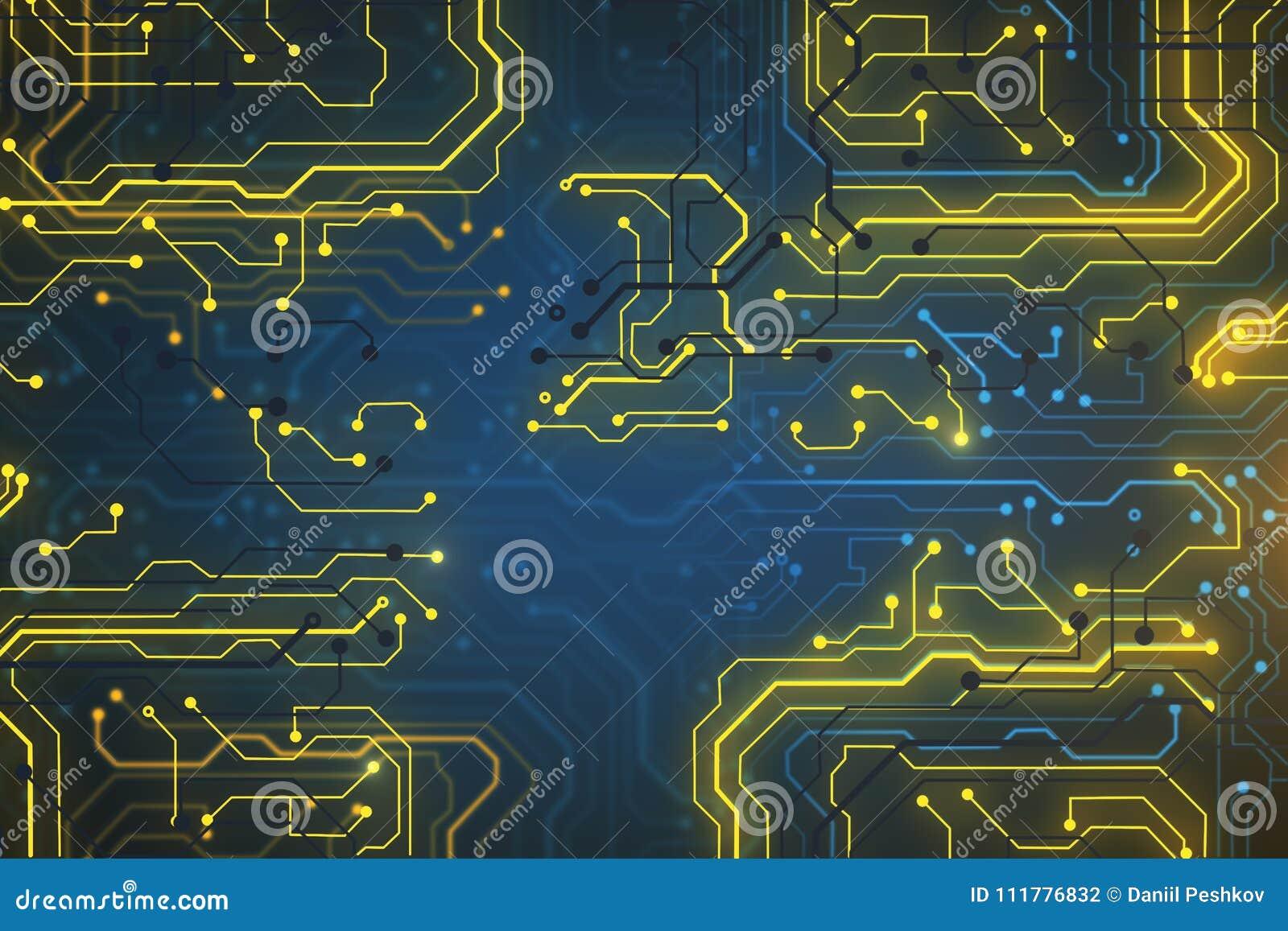 Creative circuit backdrop