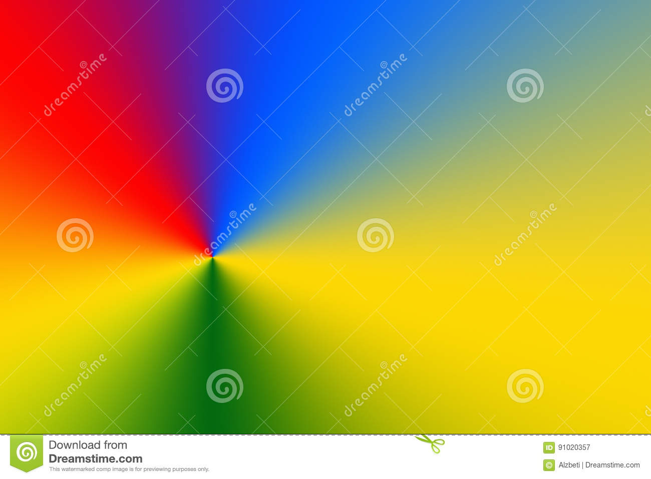 Creative Colorful Abstract Background With Light Lines Stock