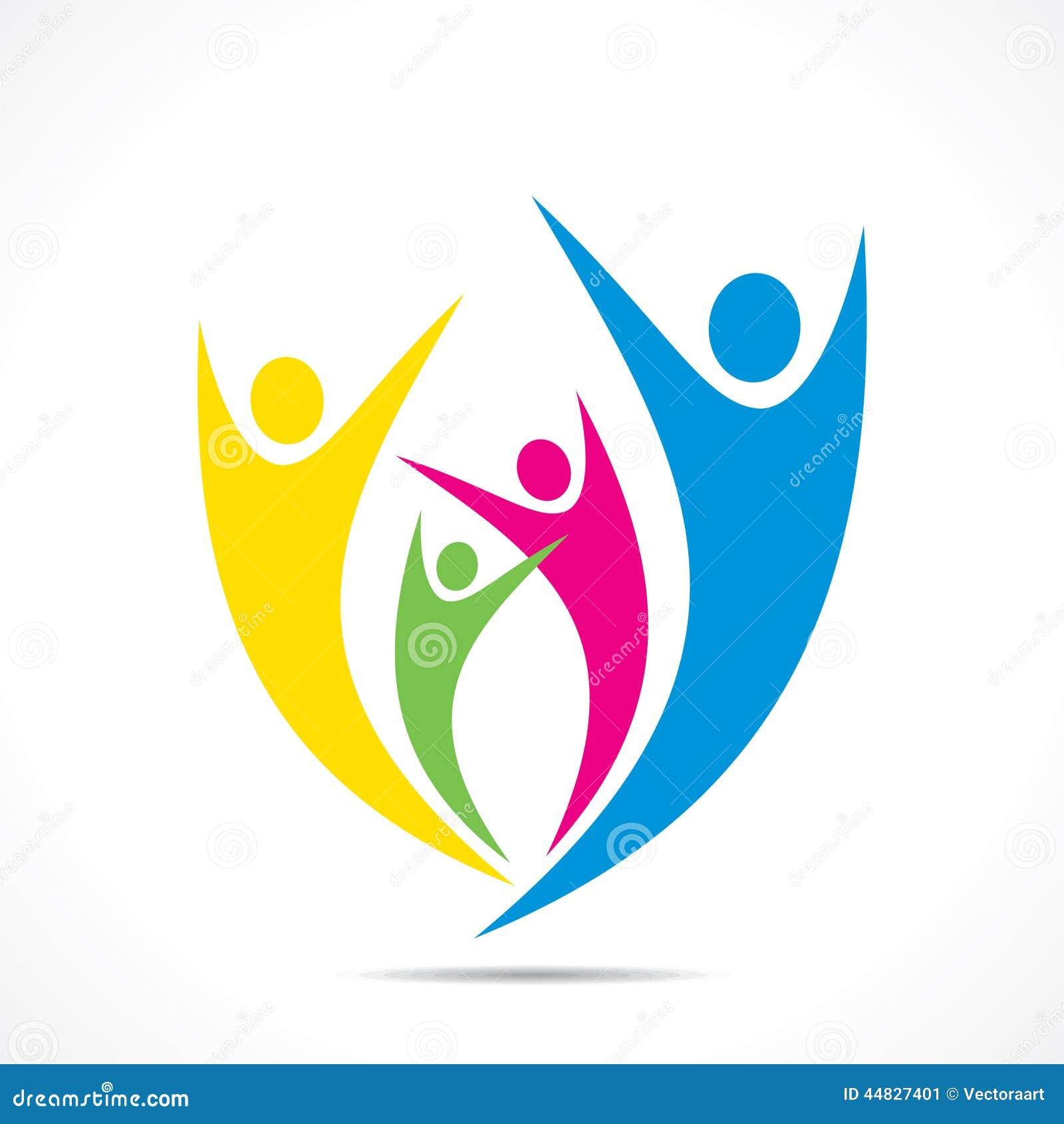 Creative Colorful Enjoy Or Celebration Icon Design Stock Vector ...