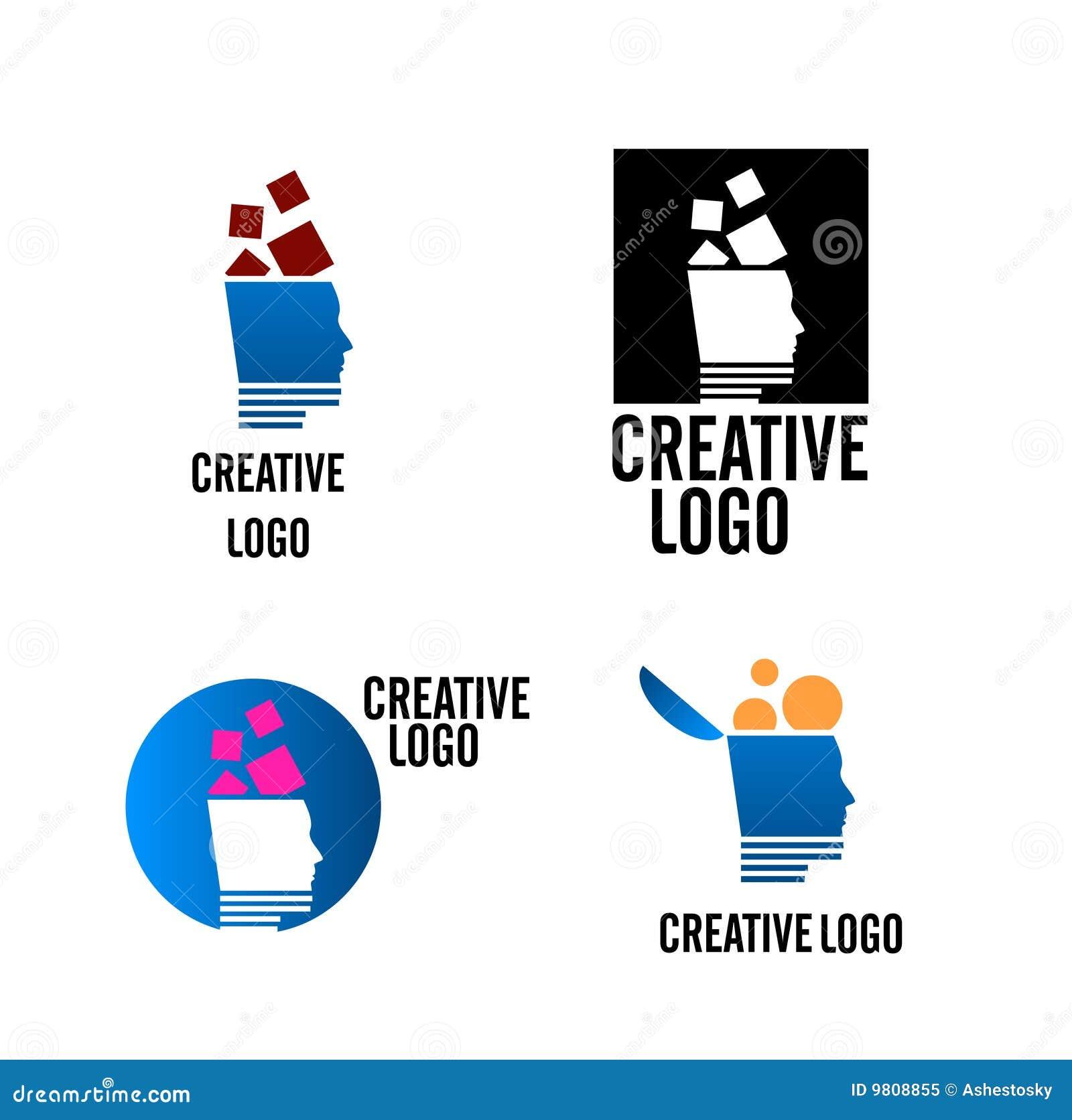creative company logo vector stock vector illustration of logos