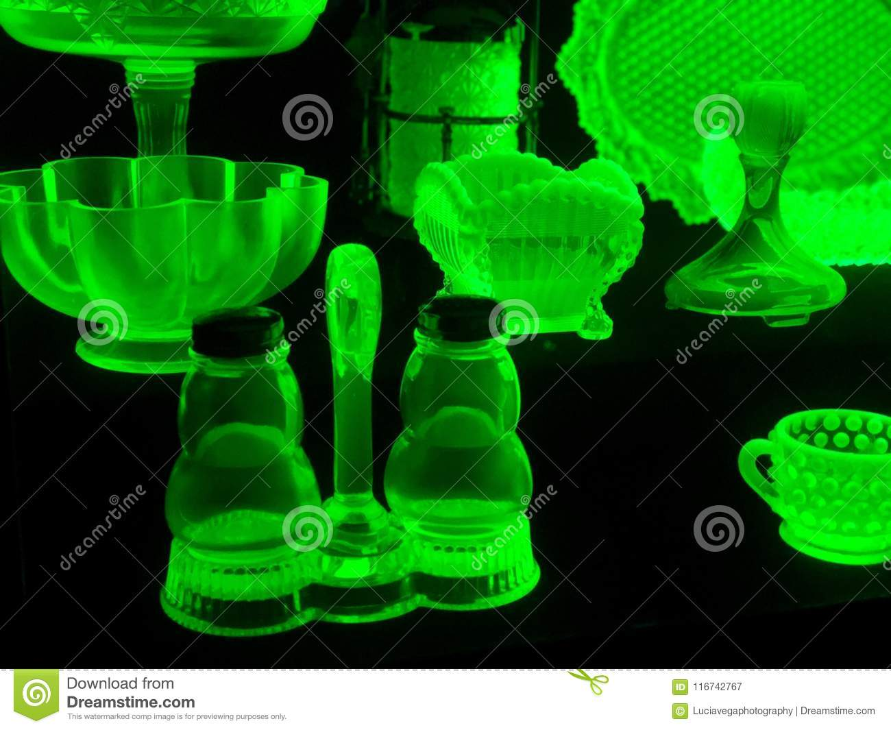 Creative Creations Of Jade Crystal Utensils Stock Image Image Of