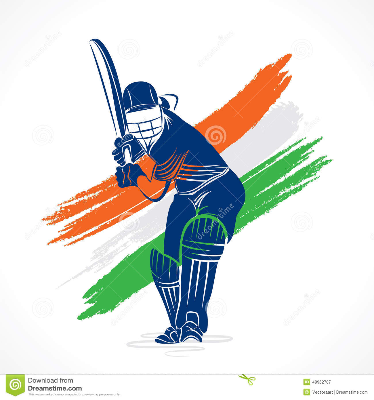 Creative Cricket Banner Design Stock Vector - Image: 48962707