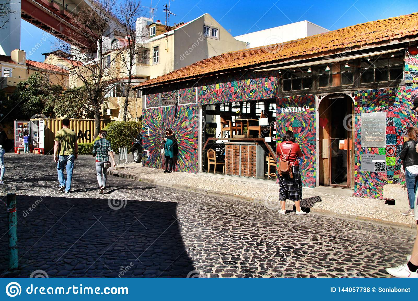 Creative and cultural area in Lisbon