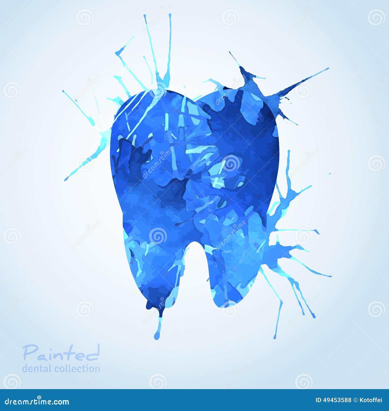 creative dental icon design stock vector image 49453588
