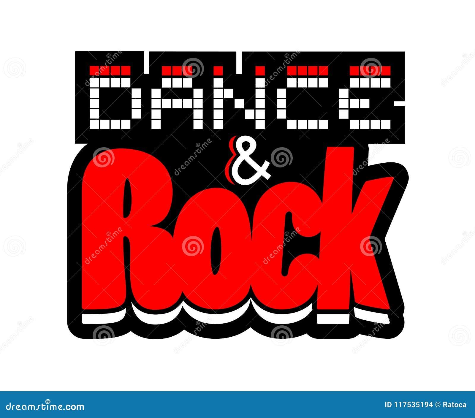 Dance And Rock Symbol Stock Vector Illustration Of Festival 117535194