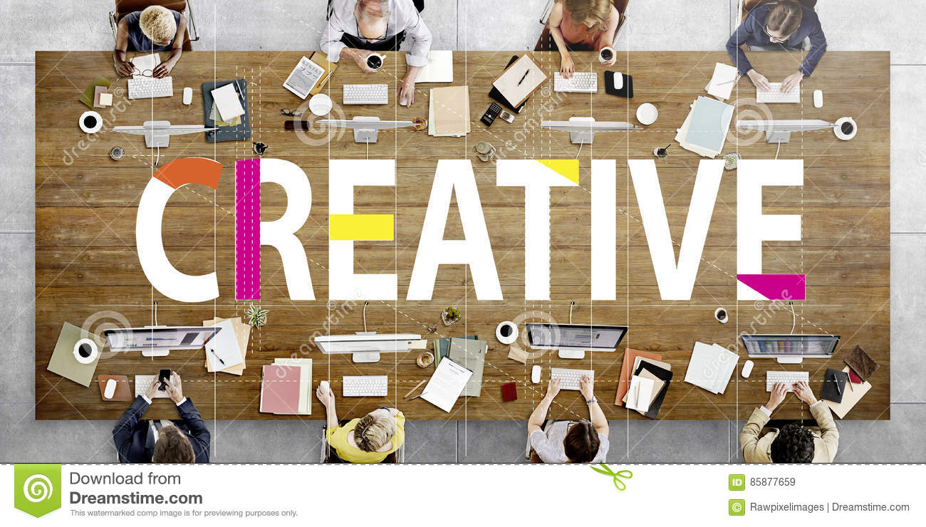 Creative Design Ideas Imagination Innovation Concept
