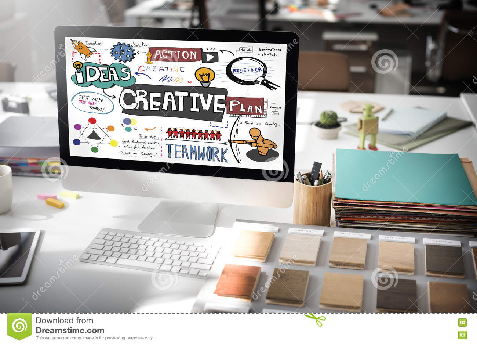 creative design innovation inspire concept stock illustration creative design innovation inspire concept